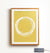 Mustard Abstract Wall Art - Printable Art