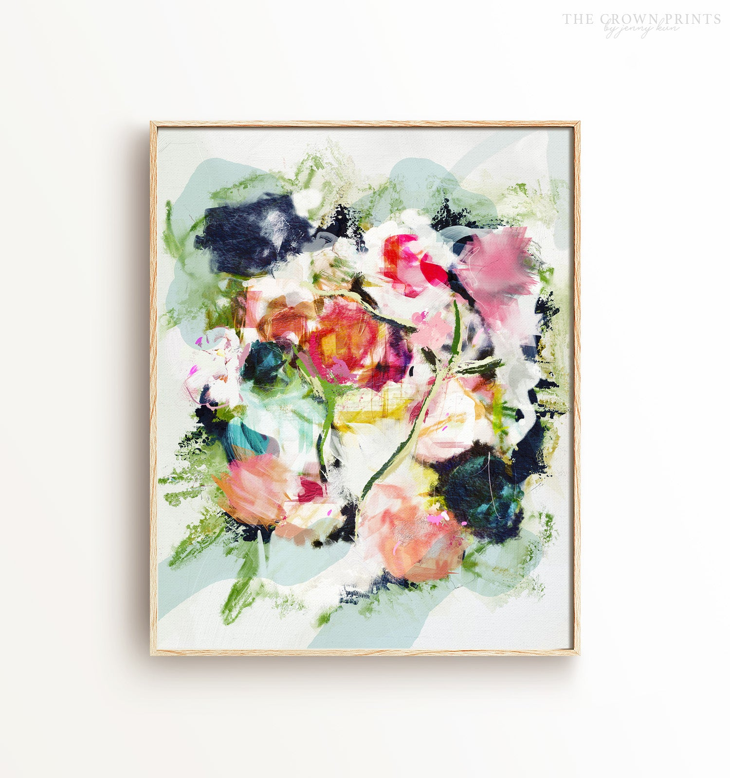 "Abstract No. 25 ""Bouquet"" Printable Art"