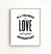 All you need is love and a good accountant - The Crown Prints