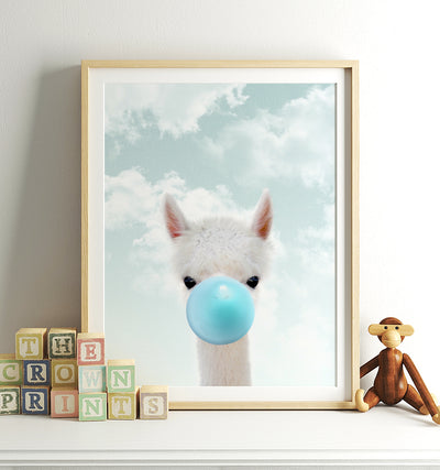 alpaca bubble-blue sky TheCrownPrints PersonalUse.jpg