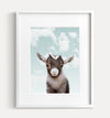 Baby Goat with Blue Sky Printable Art