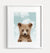 Baby Grizzly Bear with Blue Sky Printable Art