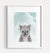 Baby Koala with Blue Sky Printable Art