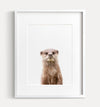 Baby Otter Printable Art