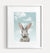 Baby Rabbit with Blue Sky Printable Art