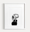 Baby Skunk Black and White Printable Art