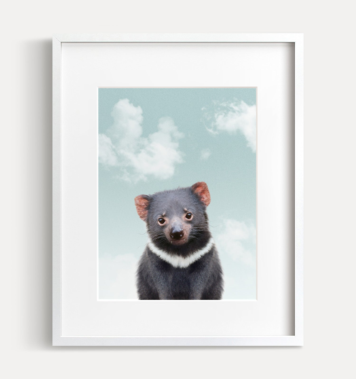 Baby Tasmanian Devil with Blue Sky Printable Art