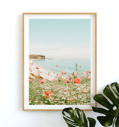 Beach Poppies Printable Art