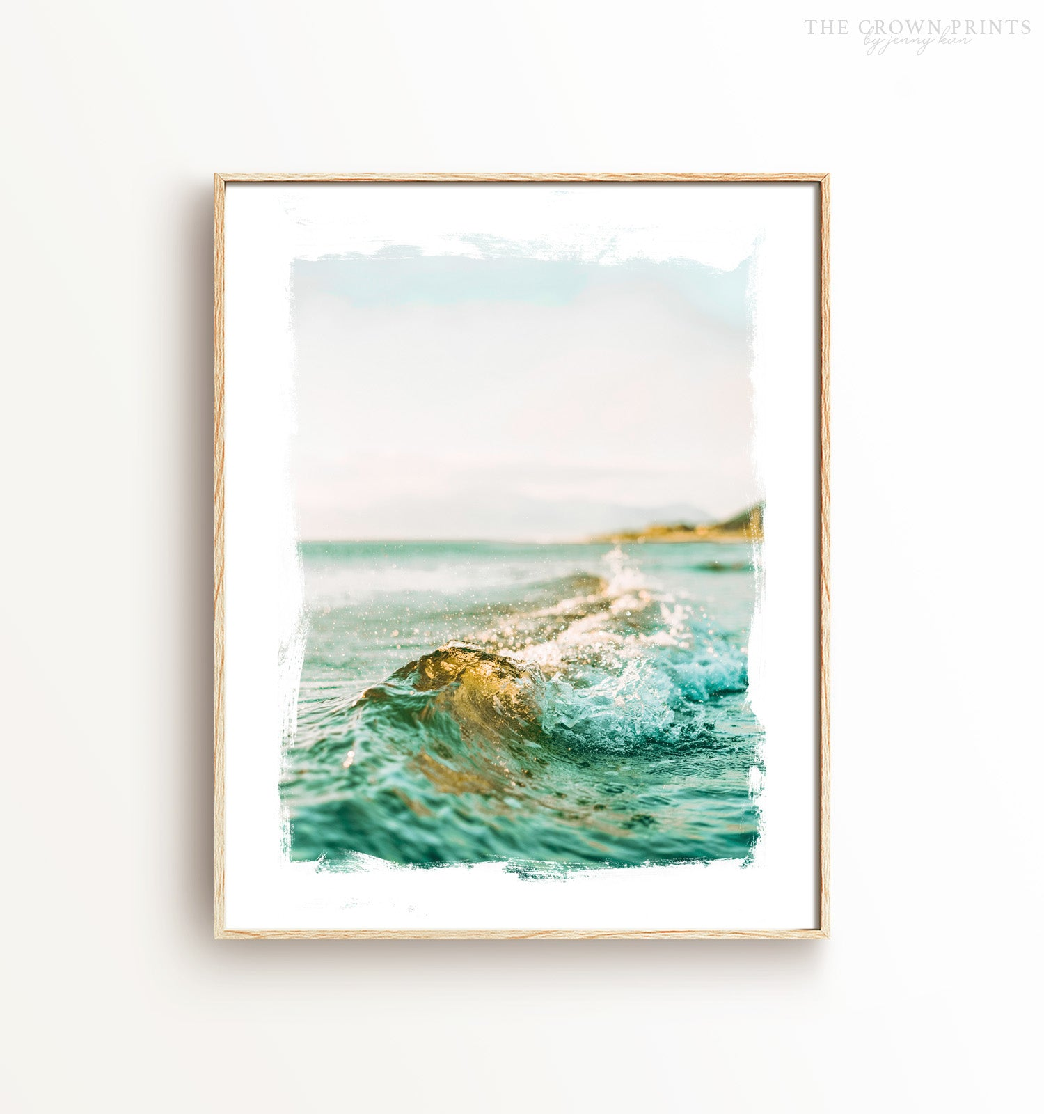 Blue Wave Printable Art