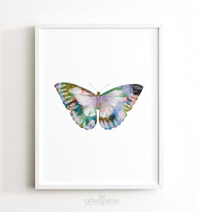 Butterfly Artwork Set of 6 Printable Art