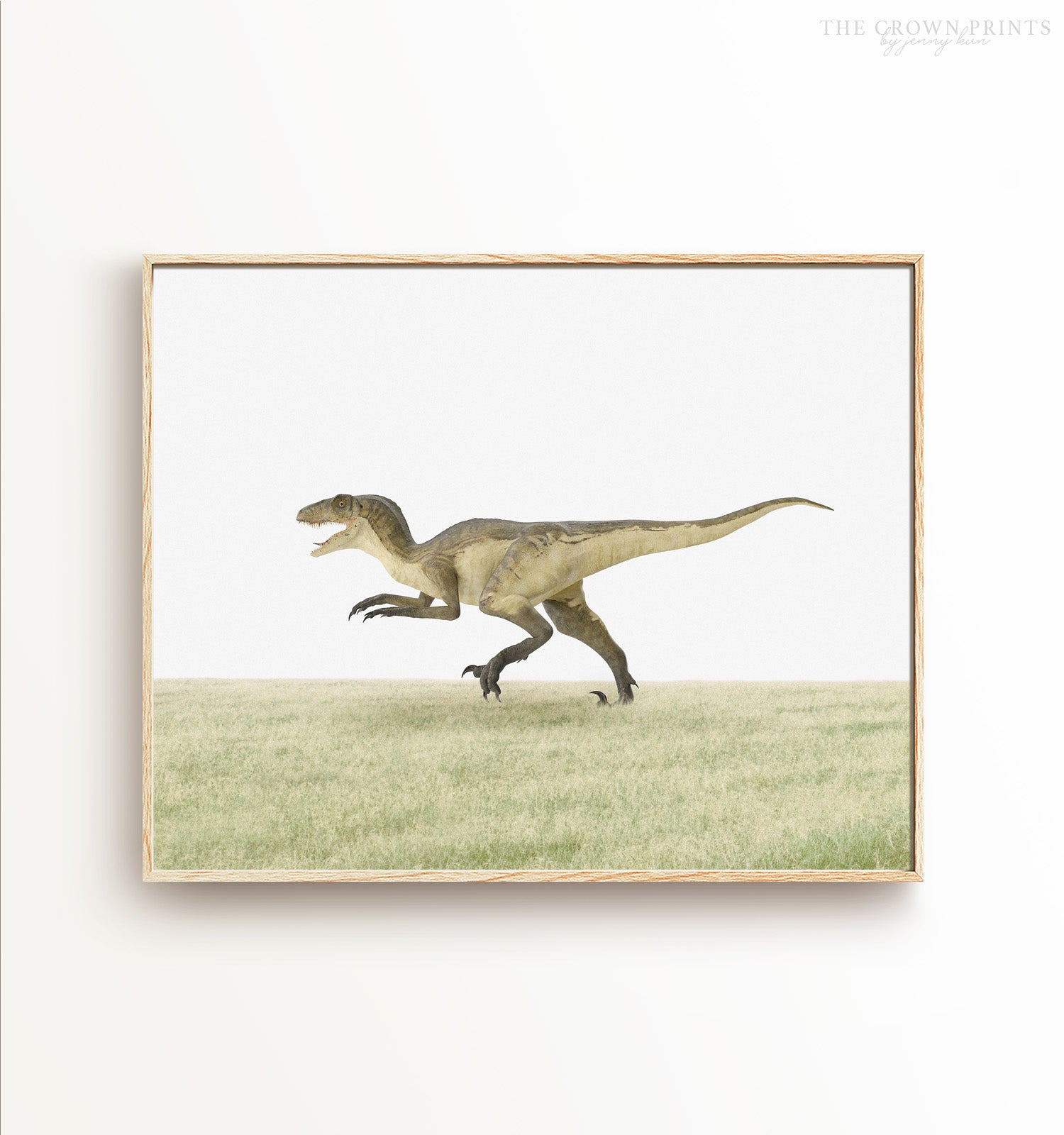 Deinonychus Dinosaur Printable Art