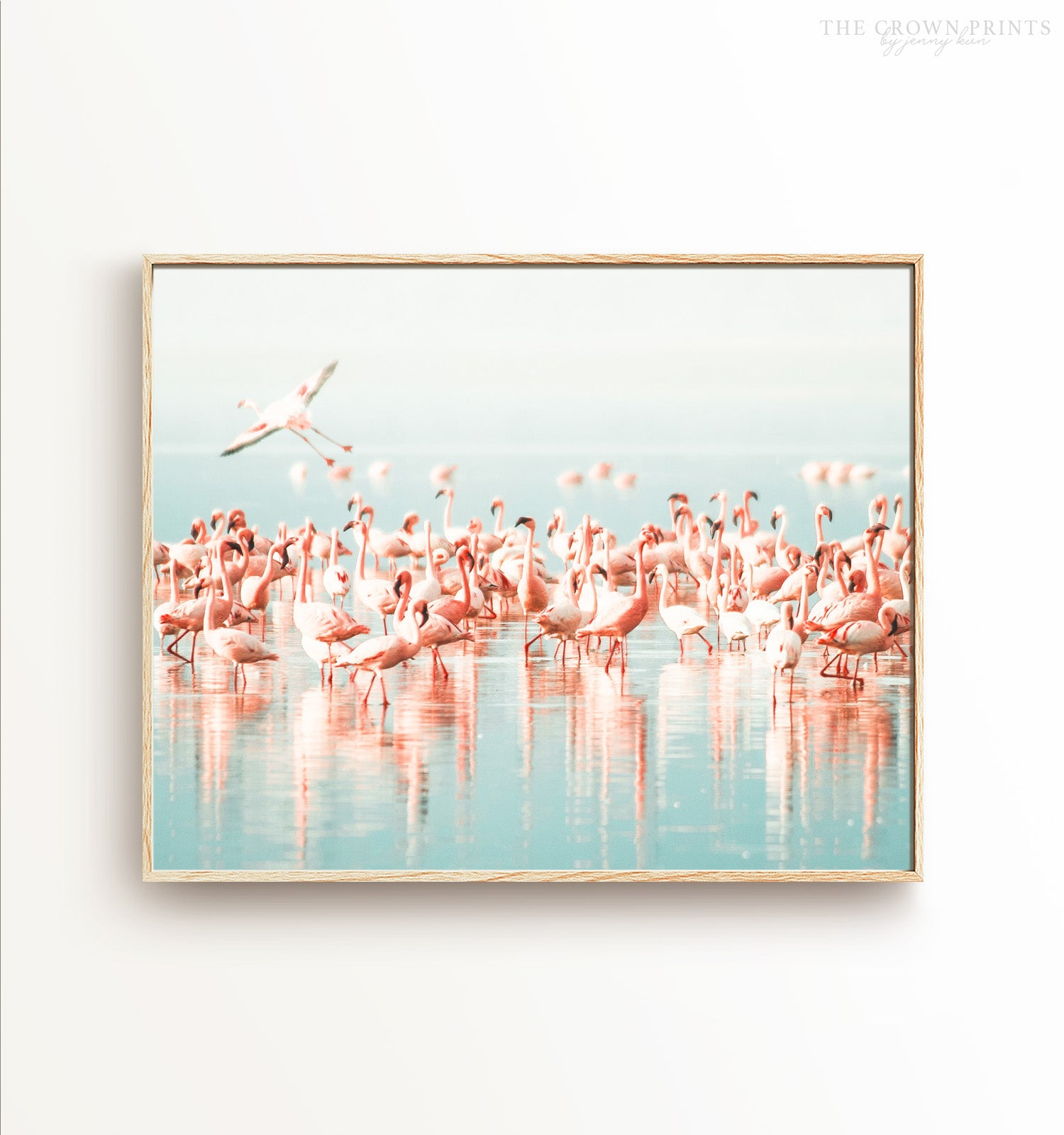 Flamingo flock Printable Art