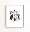 Graters Gonna Grate Printable Art