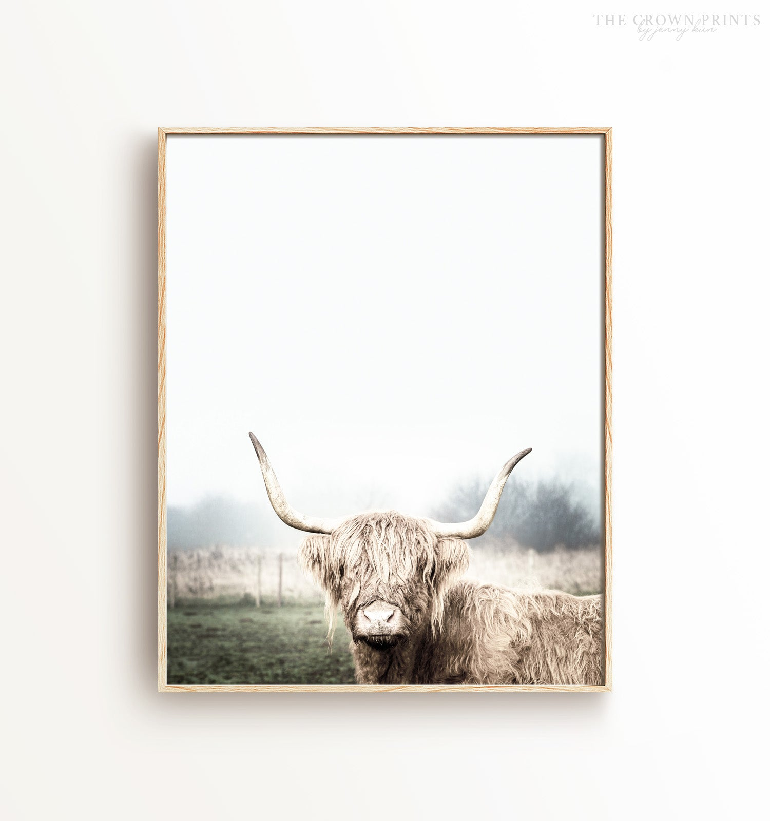 Highland Cow No. 2 Printable Art
