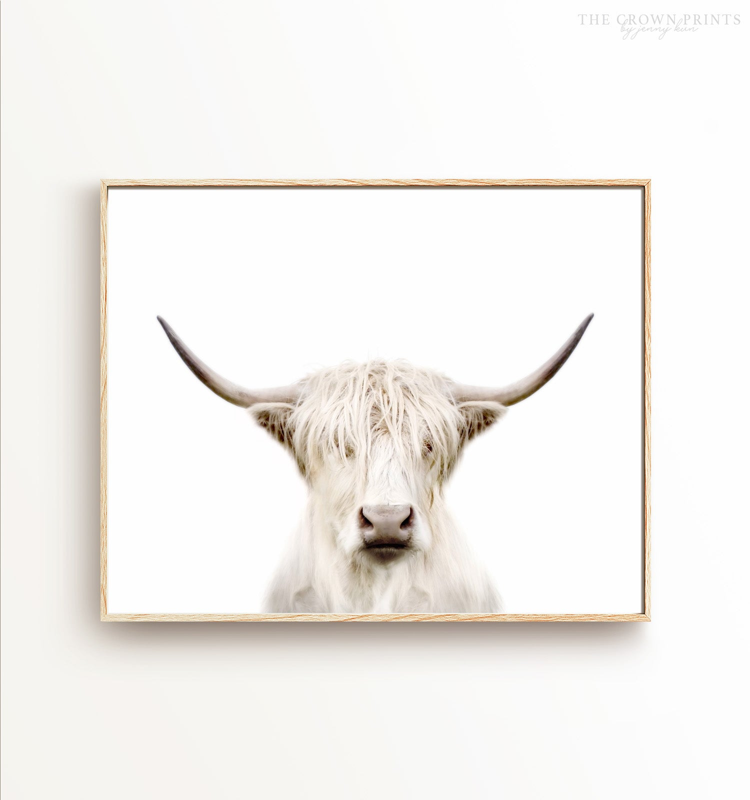 Highland Cow Printable Art