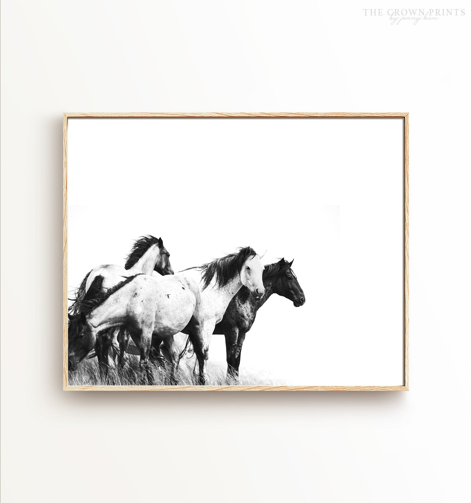 Meadow Horses Printable Art