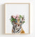 Baby Tiger with Flower Crown Printable Art