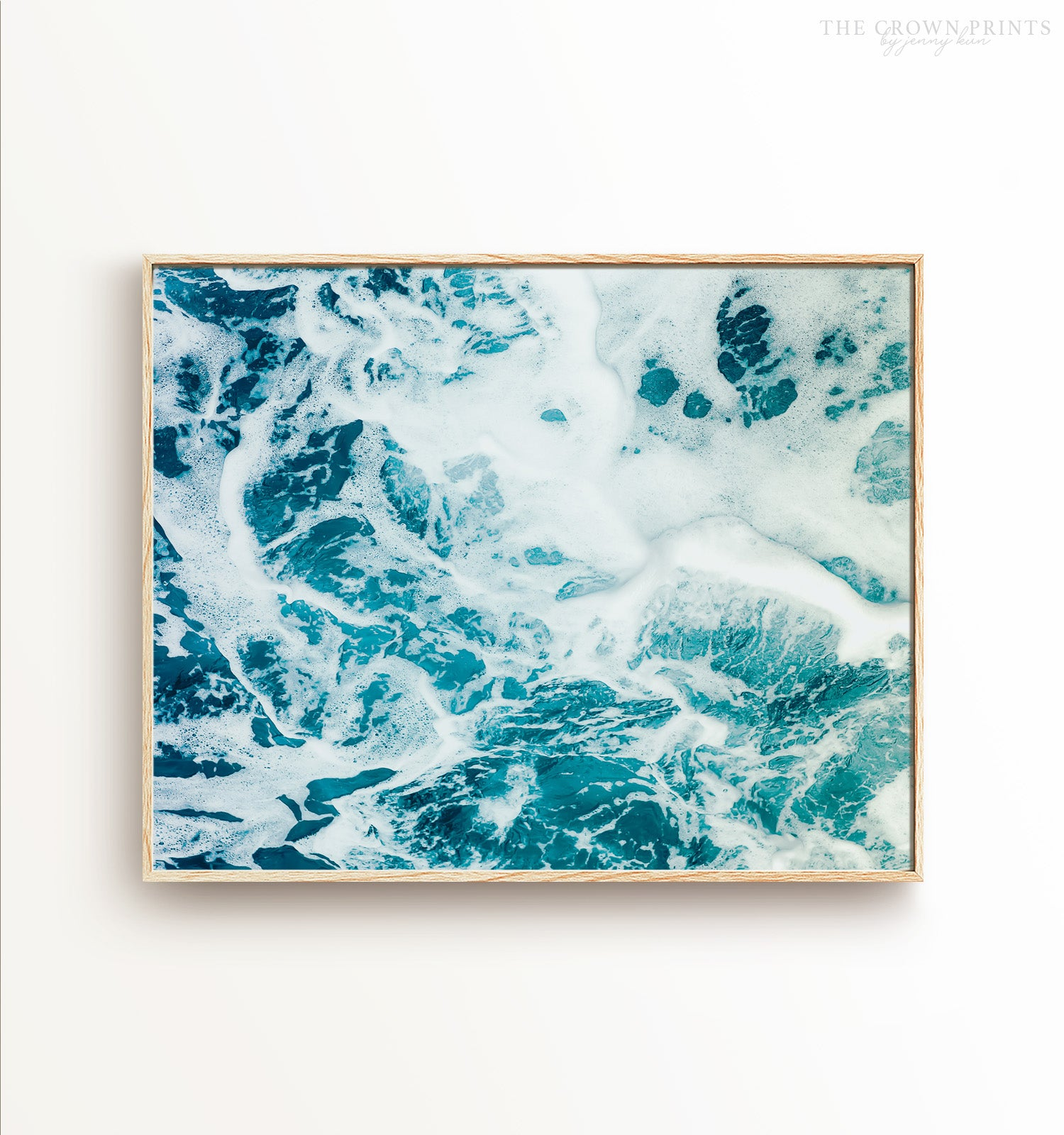 Ocean Waves No. 8 Printable Art