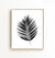 Palm leaf - black and white Printable Art