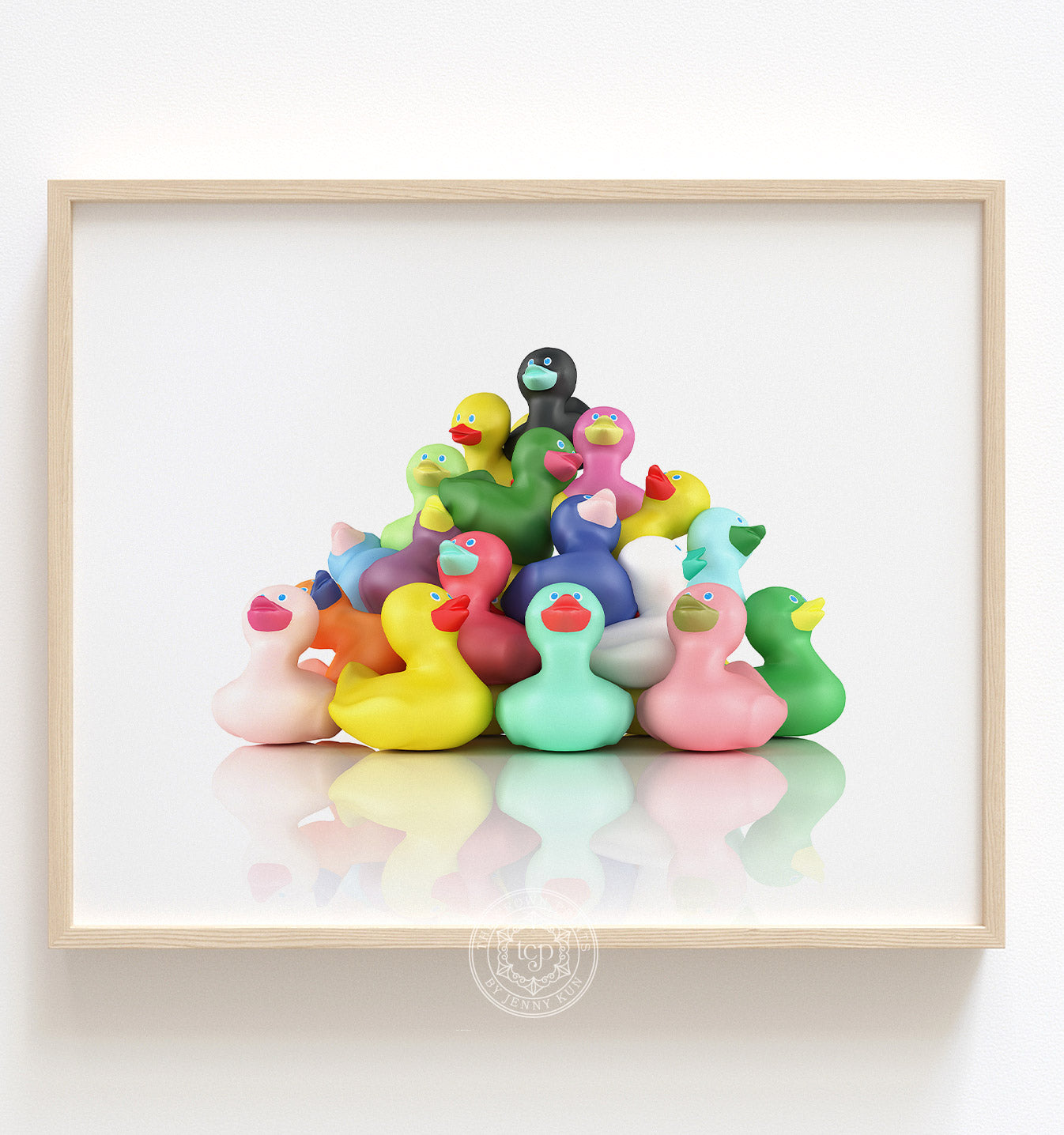 Rubber Ducks Horizontal Printable Art