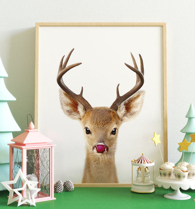 Rudolph the Red-Nosed Reindeer Printable Art