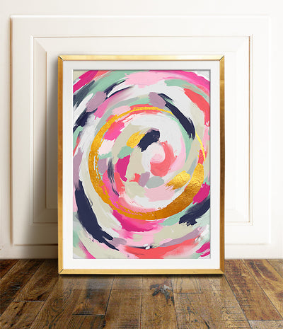 Abstract No. 5 Printable Art