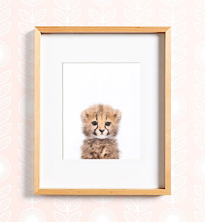 Safari Animal Prints - Set of 8 baby animals