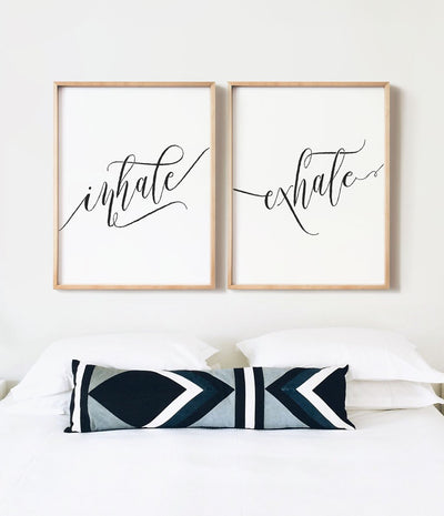 Inhale Exhale Print Set - The Crown Prints