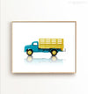 Toy Car: Dodge Truck Printable Art