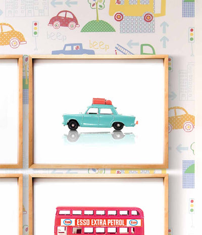 Toy Cars Prints - Set of 4 - The Crown Prints
