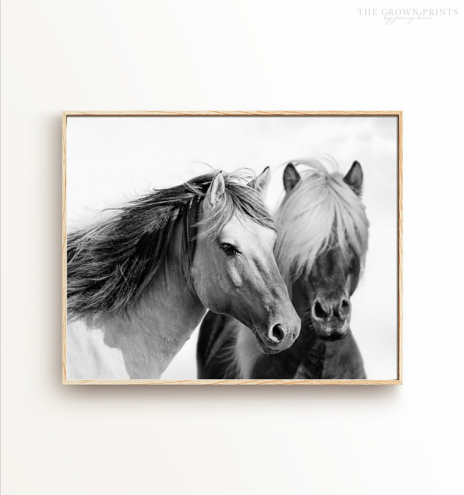 Two horses Printable Art