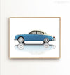 Vintage Jaguar Car Printable Art