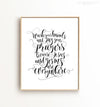 Wash your hands and say your prayers Printable Art