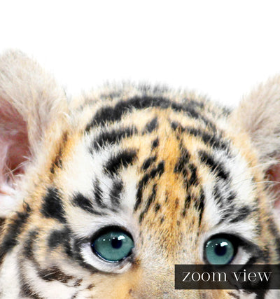 Baby Tiger No. 2 with Bow Tie Printable Art