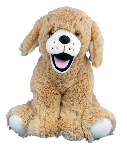 16 Inch Goldie The Labrador Retriever Heartbeat Animal With Sound Recorder