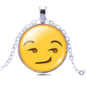 Emoji Necklace and Charm -Must Have Emoji Jewelry- FREE! - CoLyfeRaw Beauty