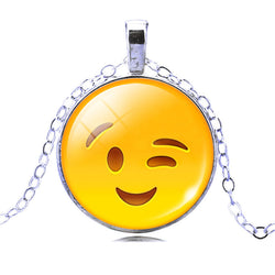 Emoji Necklace and Charm -Must Have Emoji Jewelry- FREE!