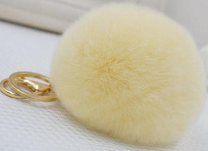 His and Hers Keychains 3in - Keychain Furballs For Cars and Everyone - CoLyfeRaw Beauty
