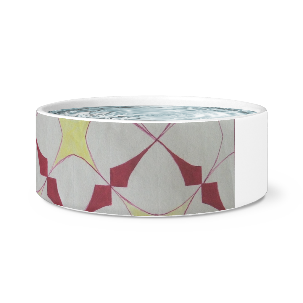 Dog and Cat Feeding Bowl - Starburst, Coral Reef, Logo Drinking Bowls - CoLyfeRaw Beauty