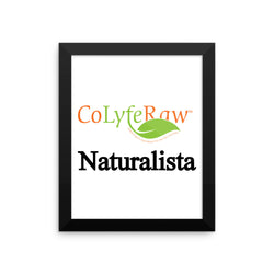 "Framed Photo Paper Poster 8""x10"" - 16""x16"" Naturalista"