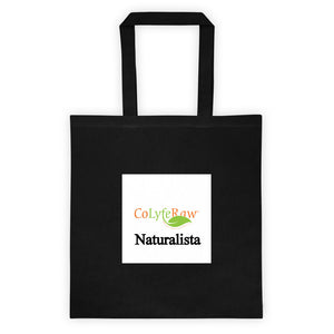"Tote bag 14.5"" x 15.5"" Practical Naturalista - CoLyfeRaw Beauty"