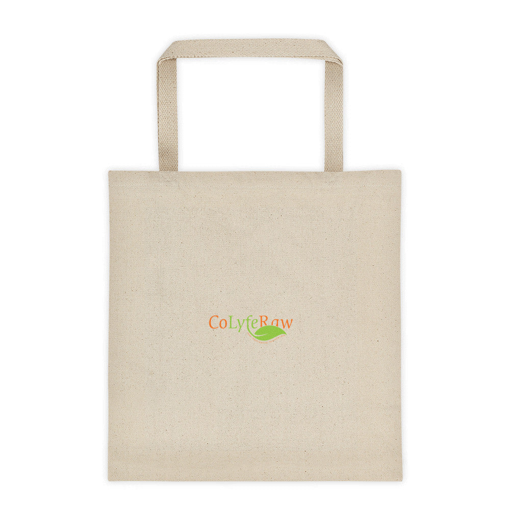 Tote bag -Square Bottom- Logo - CoLyfeRaw Beauty