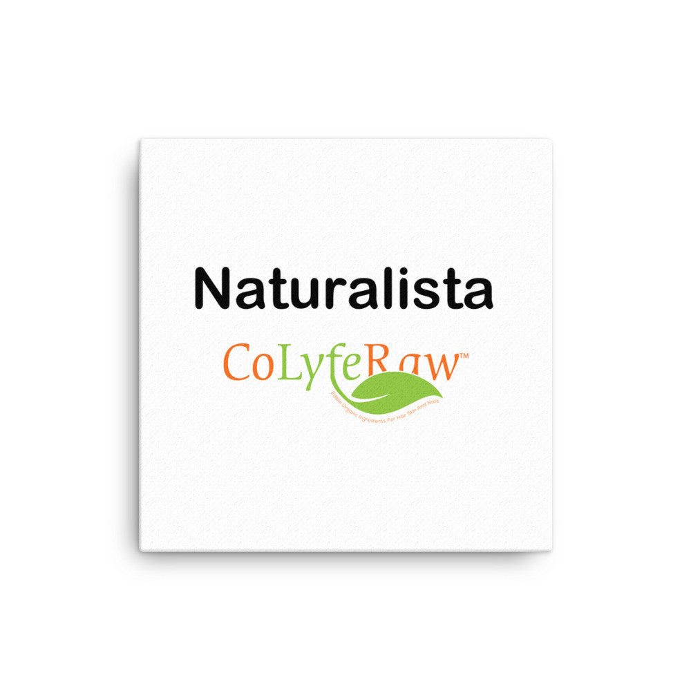 "Canvas WALL ART 12""x12"" - 12""x16"" ""Naturalista"" - CoLyfeRaw Beauty"
