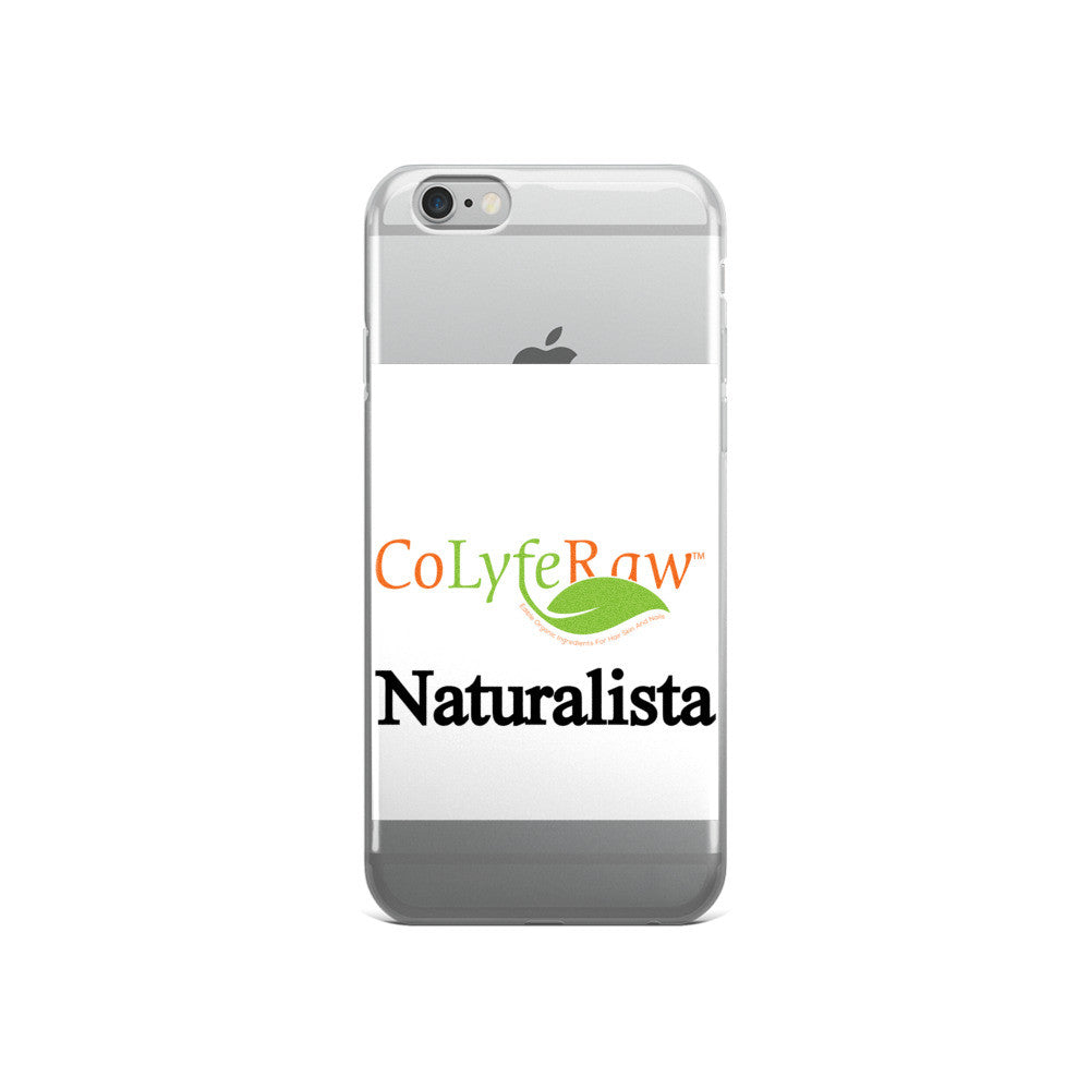 "iPhone 5, 5s/Se, 6, 6s, 6s Plus Case- ""Naturalista"" - CoLyfeRaw Beauty"