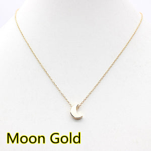 chocker gold Silver Chain star heart choker Necklace - CoLyfeRaw Beauty