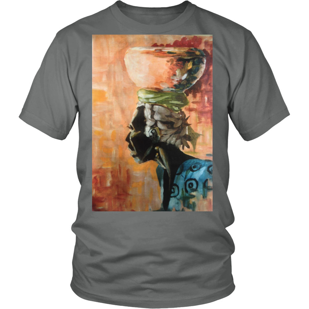 Unisex T-Shirt - Tropical Mammy - Limited Edition - CoLyfeRaw Beauty