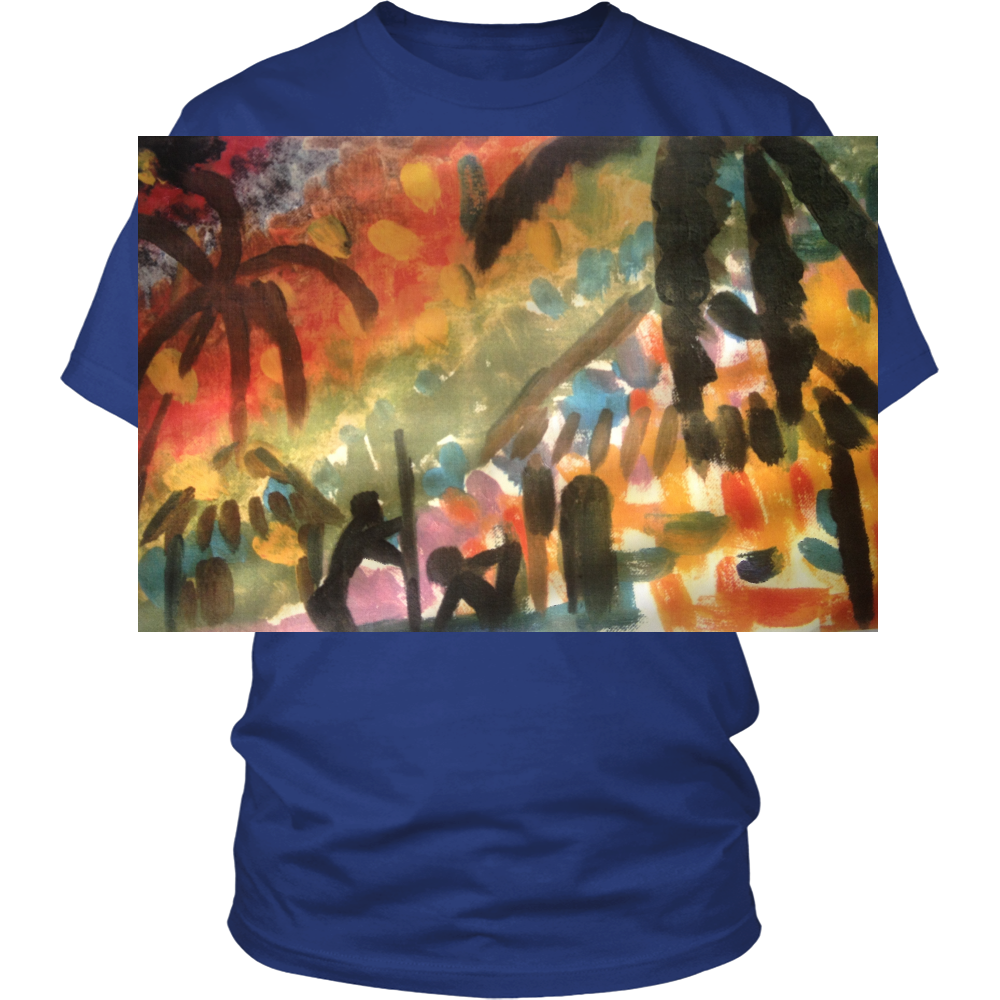 Unisex T-Shirts - Tropical Mamba Delight! Limited Edition - CoLyfeRaw Beauty