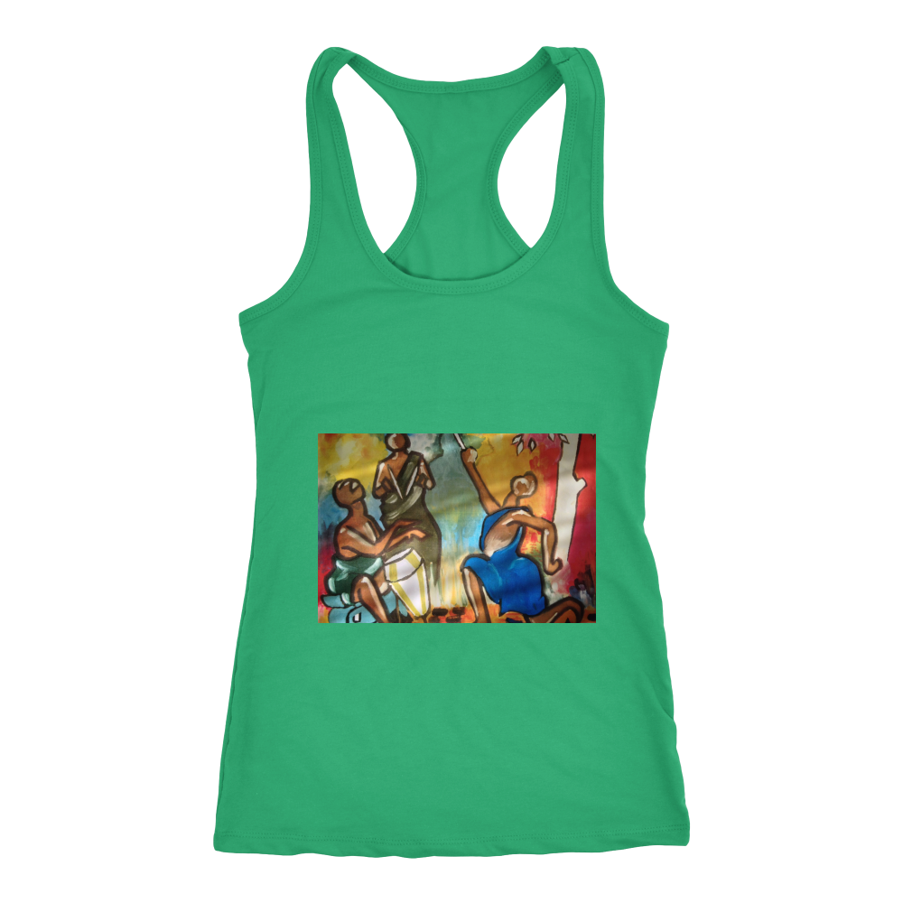 Drummer Soul Racerback Tank Unisex Fitness Tshirt, And Sports Gear - CoLyfeRaw Beauty