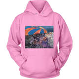 Hoodies- Warm Hoodies in Summery Colors- ART LOVERS UNITE
