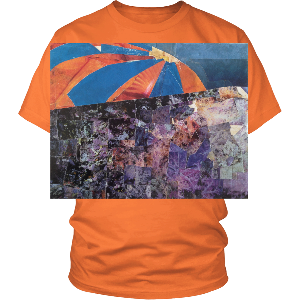 T-Shirt - Unisex , Coral Reef - District, Many Colors - CoLyfeRaw Beauty